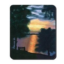 Mitiwanga sunset card Mousepad