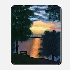 Mitiwanga sunset card Mousepad