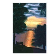 Mitiwanga sunset card Postcards (Package of 8)
