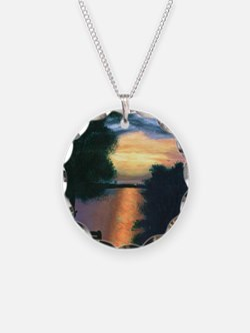 Mitiwanga sunset card Necklace