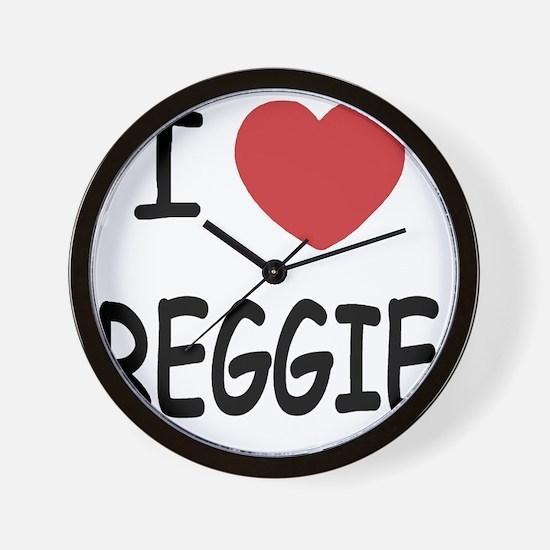 REGGIE Wall Clock