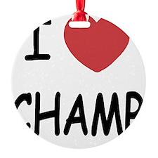 CHAMP Ornament