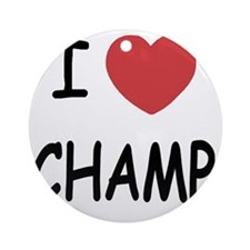 CHAMP Round Ornament