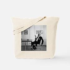 Mies van der Rohe in chair Tote Bag