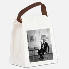 Mies van der Rohe in chair Canvas Lunch Bag