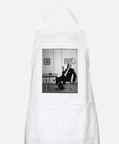 Mies van der Rohe in chair Apron