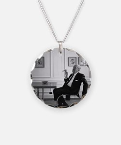 Mies van der Rohe in chair Necklace