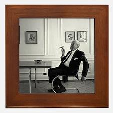 Mies van der Rohe in chair Framed Tile