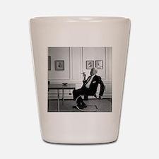 Mies van der Rohe in chair Shot Glass