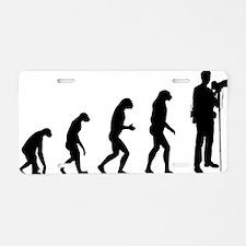 evolutiontourist Aluminum License Plate