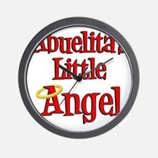 Abuelitas Little Angel Wall Clock