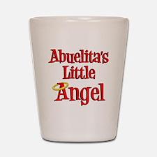 Abuelitas Little Angel Shot Glass