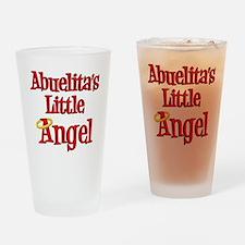 Abuelitas Little Angel Drinking Glass