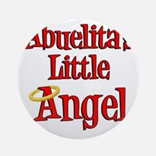 Abuelitas Little Angel Round Ornament