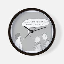 Buddhist Colony Wall Clock