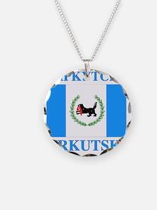 Irkutsk Oblast Flag Necklace