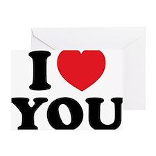 ILOVEyou3 Greeting Card