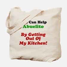 Funny Abuelito Apron Tote Bag