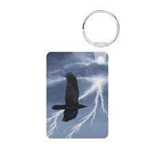 morrigan-oval1 Aluminum Photo Keychain