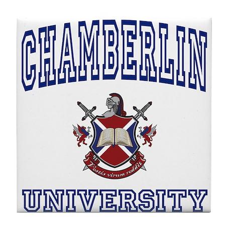 CHAMBERLIN University Tile Coaster