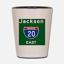 Jackson 20 Shot Glass