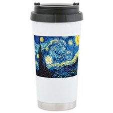 starry night coin purse Travel Coffee Mug