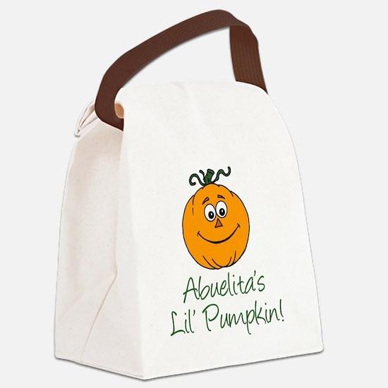 Abuelitas Little Pumpkin Canvas Lunch Bag