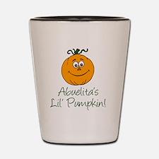Abuelitas Little Pumpkin Shot Glass