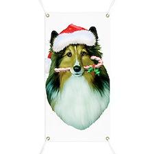 shetland sheepdog-T Banner