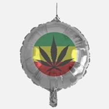 weedLeafflag2 Balloon