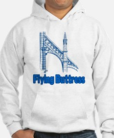 Flying Buttress Gothic Architect Hoodie