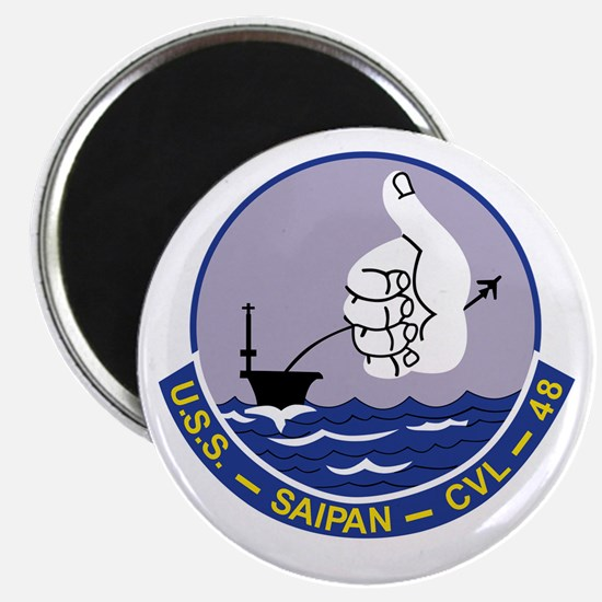 CVL-48 A USS SAIPAN Multi-Purpose Light Air Magnet