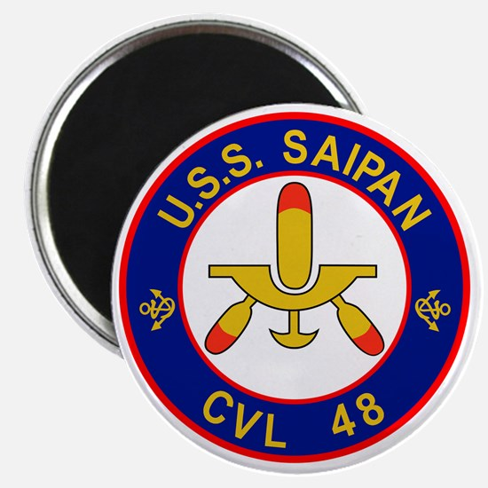 CVL-48 USS SAIPAN Multi-Purpose Light Aircr Magnet