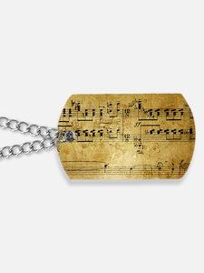 music coin purse Dog Tags