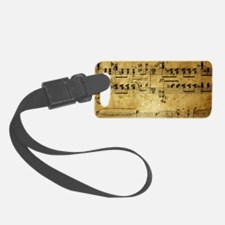 music coin purse Luggage Tag