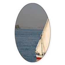 A felluca sailboat on the waters of Decal