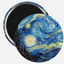 starry night wallet Magnet