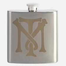 tony-montana-monogram-gold Flask