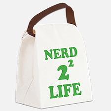 nerd4life4 Canvas Lunch Bag