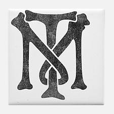 tony-montana-logo-vintage Tile Coaster