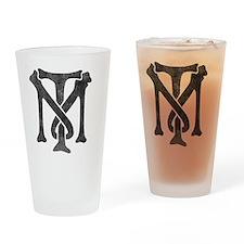 tony-montana-logo-vintage Drinking Glass