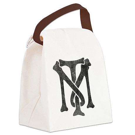 tony-montana-logo-vintage Canvas Lunch Bag