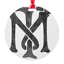 tony-montana-logo-vintage Ornament