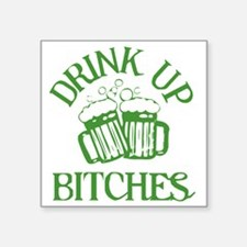 "drinkup3 Square Sticker 3"" x 3"""