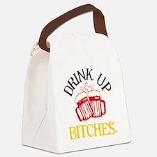 drinkup4 Canvas Lunch Bag