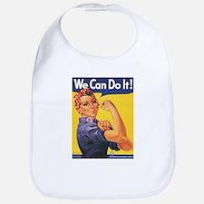 Women We Can Do It Bib