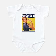 Women We Can Do It Infant Bodysuit