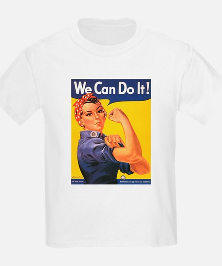 Women We Can Do It Kids T-Shirt