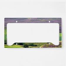 North Yorkshire Moors License Plate Holder