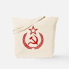 hammer sickle red Tote Bag